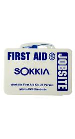 Sokkia Emergency First Aid Kit - Jobsite - 25 Person