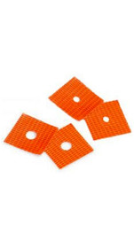 "Sokkia Orange Nail Markers  1/4"" or 1/8"" Hole (70 per pkg)"