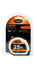 Keson Pocket Tape 25 ft 10ths & 100ths