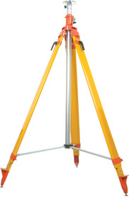 SECO Heavy-Duty, Extra-Tall Elevator Tripod - Orange 5321-17-ORG