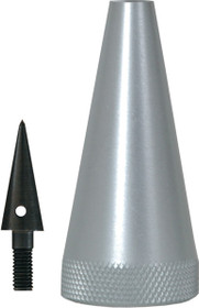 Aluminum Point with Replaceable Plumb Bob Point