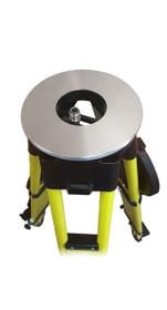 GeoMax - Heavy-Duty Dual Clamp Fiberglass Tripod - Round Head 8248660