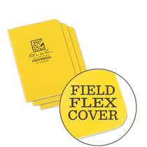 Rite in the Rain Notebook Mini Stapled Field-Flex Cover 3-pack