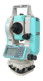 "Nikon Total Station DTM-322 5"" Lens view"