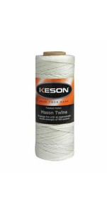 Keson String Line Twisted Nylon White 545 ft.