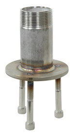 Pipe Thread Masonry Adapter (Stainless Steel)