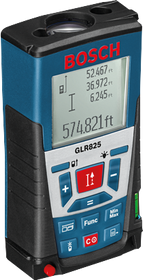 Bosch GLR825 Laser Distance Measurer 825-ft (251 m) Accuracy of +/- 0.04-in (1.0 mm) s/n