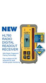 Spectra Precision HL760 Radio Digital Readout Receiver