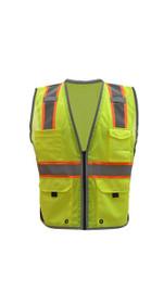 GSS Safety Vest CLASS 2 HYPE-LITE SAFETY VEST W/BLACK SIDE