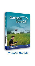 Carlson Software SurvCE 5.0 Robotic Module 6505.002.000