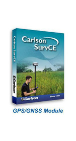 Carlson SurvCE GPS 6.xx [Requires SurvCE Basic (TS)]