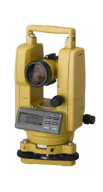 Topcon 5-Second Digital Theodolite DT-205L with Laser Pointer