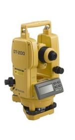 Topcon 7-Second Digital Theodolite DT-207L with Laser Pointer