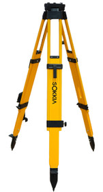 Sokkia Heavy Duty Wood Tripod Dual Clamp 724252