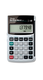 Calculated Industries 3400 Pocket Real Estate Master Calculator