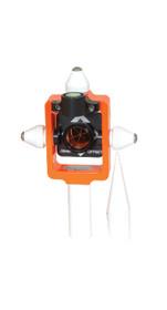 SECO 25 mm Mini-Stakeout Prism Kit – Flo Orange