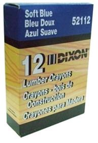 Blue Dixon Lumber Crayons Dz/Bx