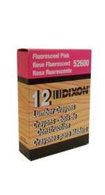 Flo Pink Dixon Lumber Crayons Dz/Bx