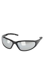 Elvex Safety Glasses Silver Mirror Lens SG-24M-BLK
