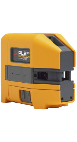 Pacific Laser Systems PLS 5R Red Beam 5-Point Laser Level