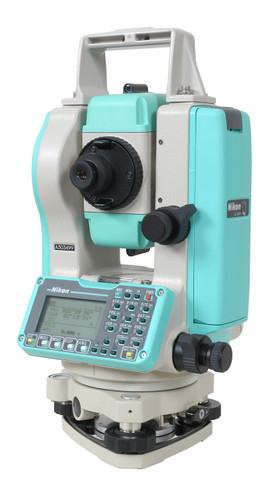 "Nikon Total Station DTM-322 5"" Lens view"
