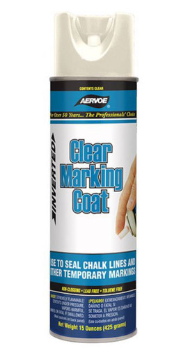 Aervoe 200 Clear Survey Grade Marking Paint Inverted Spray Tip (Case of 12)