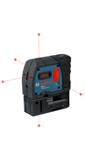 Bosch GPL 5 5-Point Laser Alignment w/ Self Leveling