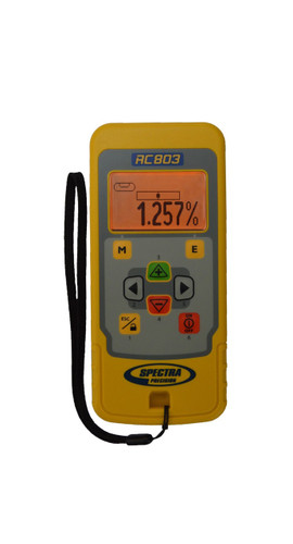 Spectra Precision RC803 IR/Radio Remote Control w/ Hand Loop