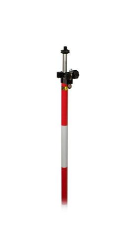 Sokkia 724201 Knob Lock Prism Pole (Dual Grad.) - 12'