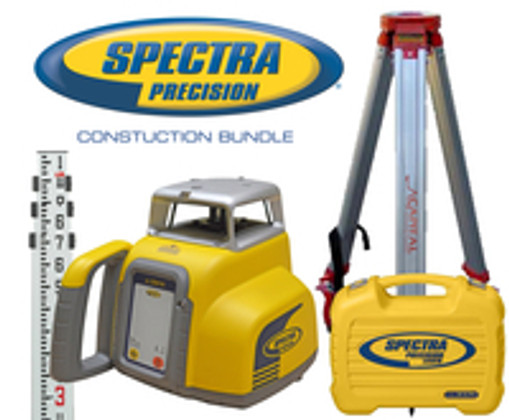 Spectra Precision LL300N Laser Level Construction Bundle