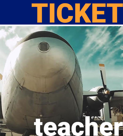 teacher admission ticket free to aerospace museum of california
