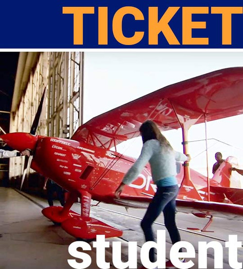 student admission ticket to aerospace museum of california