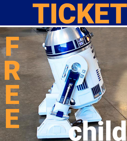 child admission ticket free to aerospace museum of california