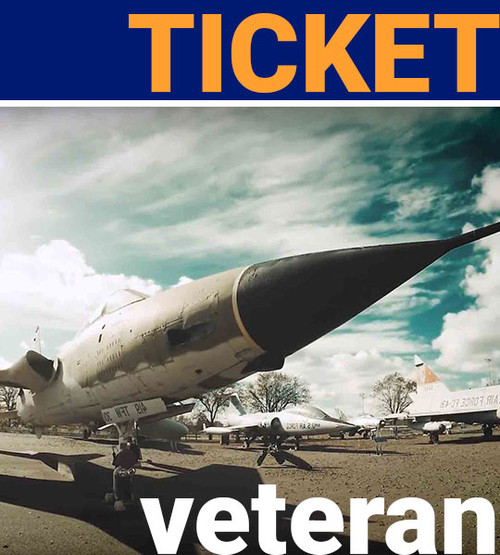 veteran admission ticket free to aerospace museum of california