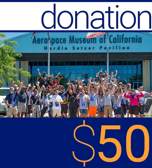 Donation—Sponsor youth to attend Flight Academy Camp