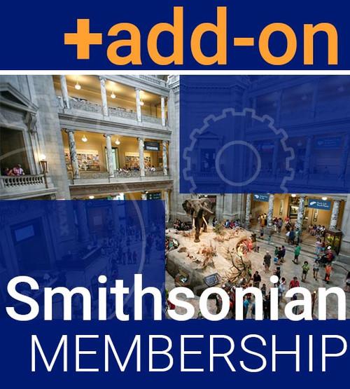 Member Add On—Smithsonian Affiliate Membership