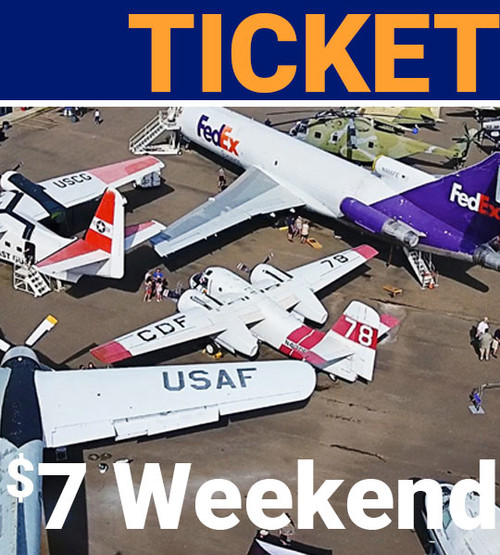 $7 weekend admission