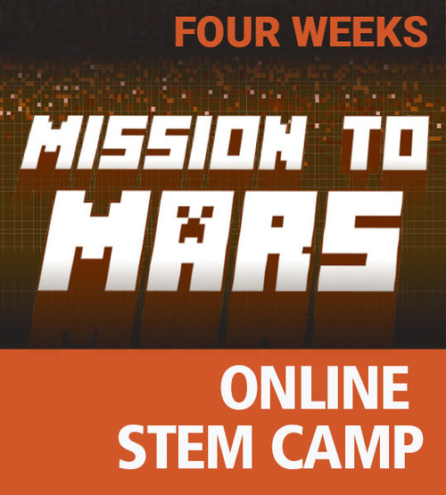 Mission To Mars - Online Minecraft STEM Camp Four Week Access