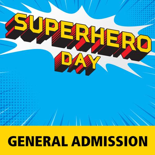 superhero day admission