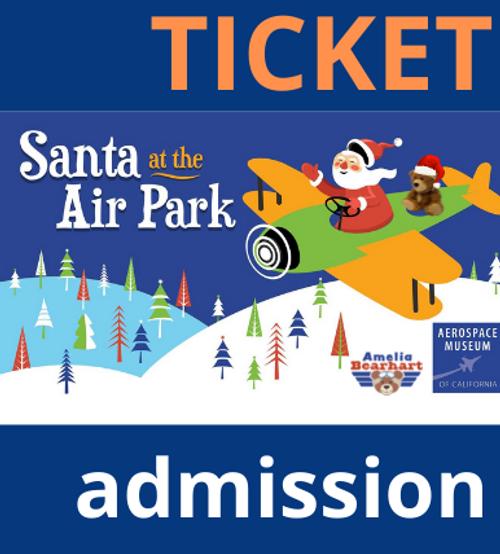Santa at the Air Park - Friday, November 26th 10 a.m. - 2 p.m.