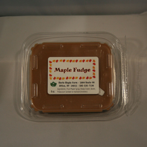 8 oz Maple Fudge