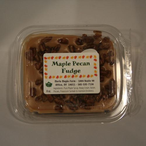 8 oz Maple Pecan Fudge