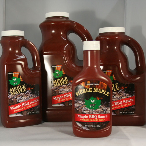Group of Maple BBQ Sauce