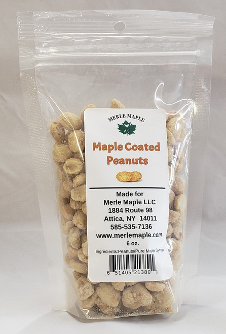 6 oz Maple Coated Peanuts