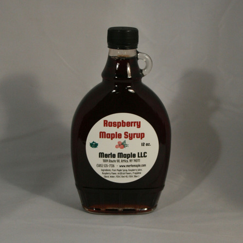 Raspberry Maple Syrup