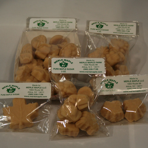 Group of Maple Sugar Candy