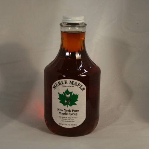 Quart Glass of Pure Maple Syrup