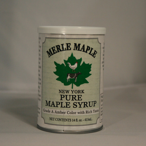 Single Tin Can of Pure Maple Syrup