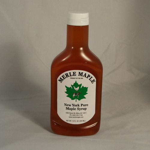 Squeeze Bottle of Pure Maple Syrup
