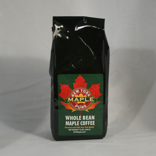 Whole Bean Maple Coffee